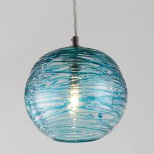 aqua glass pendant light glass pendant lights clear colorful glass shades of light