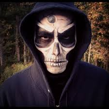 Unique Halloween Costumes Men Skull Makeup Mens Halloween Costumes Ideas Hair