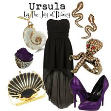 ursula mermaid polyvore