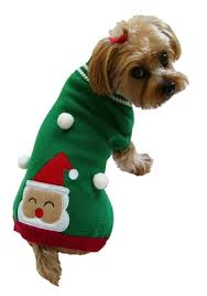 pet sweaters and green santa sweater snowman sweater for dogs