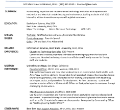 Military Experience Resume Download Veteran Resume Haadyaooverbayresort Com