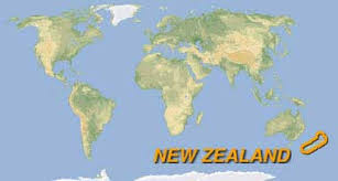 map world nz graphite 2005 travel and new zealand