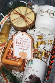 fall gift basket ideas diy fall gift basket hello honey