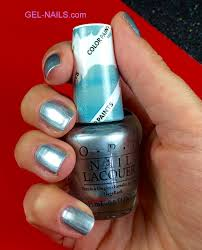 opi nail lacquer silver canvas i gel nails com