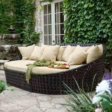patio dark grey rattan garden furniture 7 piece patio dining