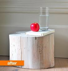Tree Stump Nightstand 19 Most Fascinating U0026 Practical Diy Tree Stump Table Ideas