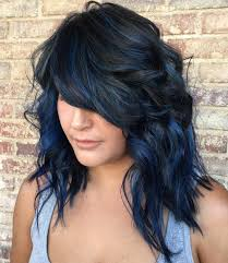 african american hairstyles color streaks blue black hair how to get it right