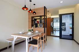 dining room design along with laminated wall partition ideas and