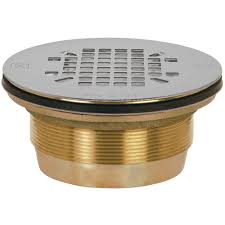 sioux chief 2 in brass shower drain with no caulk 827 2b the