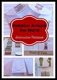 holidays around the world interactive notebook ashleigh s