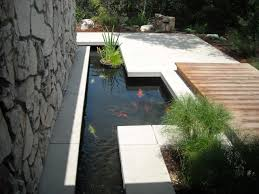 exterior design small backyard pond with folding doors and brick