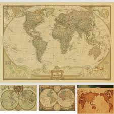 Vintage World Map by Online Buy Wholesale Vintage Map From China Vintage Map
