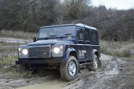land rover defender 2013 iconic land rover turned into electric car research vehicle