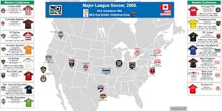 major league soccer table major league soccer 2009 billsportsmaps com