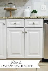 painted cabinets kitchen how to paint your kitchen cabinets for a smooth painted finish 11