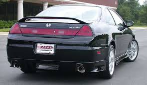 01 honda accord coupe 01 02 honda accord 2dr razzi ground effects kit