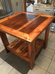 barnwood kitchen island custom barn wood kitchen island by barn wood studio custommade