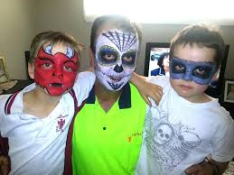 cool face painting for halloween halloween face painting