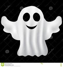 black and white halloween party ghost halloween party in a white sheet stock vector image 77938179
