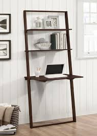 Ladder Desk And Bookcase by Arlington Wall Shelf With Desk