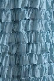Blue Ruffle Shower Curtain Ruffle Shower Curtain Design