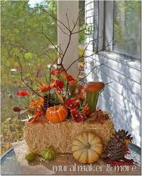 fall decorations for outside inspirational outdoor fall decorations with hay graphics best