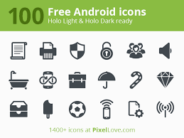 free for android free icon font of 40 social media icons icon deposit