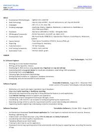 Crystal Report Resume Shruthi Surendran Resume Restaurant Server Resume Samplefine