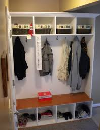 laundry room clothes hanger ideas