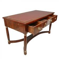 bureau acajou bureau empire en acajou meubles de style