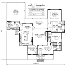 Acadian Style The Riverview Plan By Madden Home Design 2304 Square Feet Living