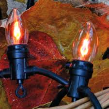 flicker flame string lights flicker flame string lights length of indoor and outdoor flickering