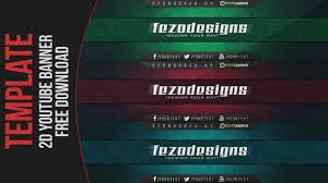 free youtube banner layout cool 2d youtube banner template free download youtube
