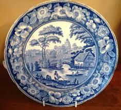 antique blue white warming dish from bestkeptsecrets