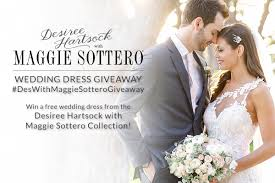 Maggie Sottero Wedding Dresses Maggie Sottero Wedding Dress Giveaway Desiree Hartsock Bridal
