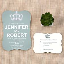 simple wedding invitations simple but dusty blue inspired bracket wedding invites
