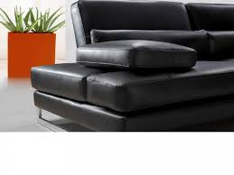 furnitures black leather sectional sofa fresh home leather