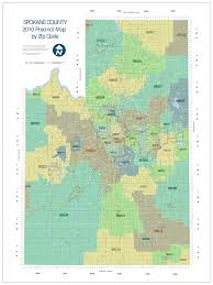 spokane zip code map voting precinct by zip code k k 2017