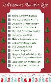 best 25 christmas bucket lists ideas on pinterest winter bucket