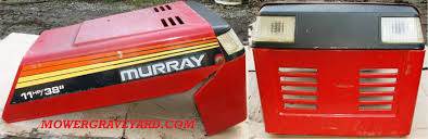 murray lawn mower grave yard equipment used tractor parts salvage