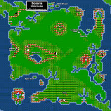 Bravely Default World Map by Two Boys And Their Blog Ultima Exodus Graphics And Exploration