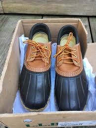 s bean boots size 9 in box s size 9 medium bean boots by l l bean gumshoe