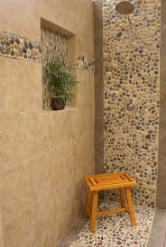 best 25 river rock shower ideas on pinterest river rock river rock pebbles shower tile with 13 x 13 porcelain tile