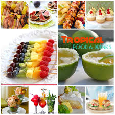 caribbean theme party ideas drinks i would like to serve at