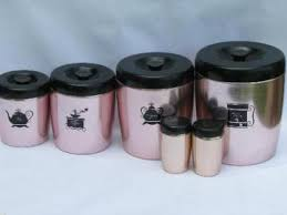 pink kitchen canisters pantry storage canisters spice jars