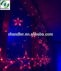 new style beautiful outdoor christmas star lights led icicle light