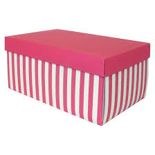 gift boxes pink white striped gift box spritz target