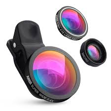 halloween contact lenses amazon amazon com amir 3 in 1 camea lens kit fisheye lens u0026 macro lens