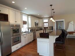 Tranquility Resilient Flooring Traditional Kitchen With Pendant Light U0026 Breakfast Bar In Cape May