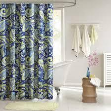 Gray Paisley Shower Curtain by Amazon Com Intelligent Design Id70 055 Melissa Shower Curtain 72